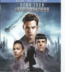 Cover Art For Blu Ray Case Only No Movie No Case Star Trek Into Darkness 2013 Ebay