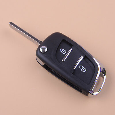 Uncut Blade 2 Button Car Remote Fob Shell Case Cover For Peugeot 307 107 207 407