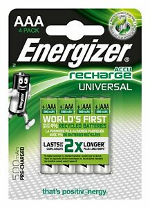Energizer-E301375700-Blister-of-4-Rechargeable-Batteries-Micro-1-2V-500mAh