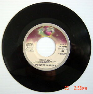 1983-039-S-45-R-P-M-RECORD-POINTER-SISTER-JUMP-FOR-MY-LOVE-EDITED-HEART-BEAT