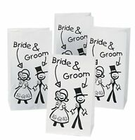 Paper Wedding Treat Bags For Kids 12 Pieces Party Favors