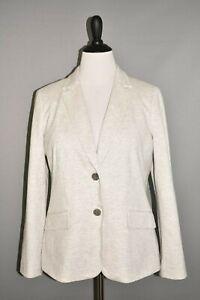 TALBOTS-NEW-169-Aberdeen-Pique-Knit-Structured-Blazer-Jacket-Size-14