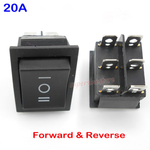 20A Forward Reverse Toggle Switch Inverted CW CCW Control Converter for DC Motor
