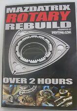 Rotary Engine Rebuild DVD By Mazdatrix - RX-7, 13B, FD3S, FC3S