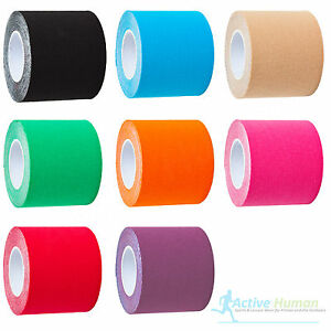 6 Rolls Kinesiology Tape Sports Physio Muscle Strain Injury Support KT Ares