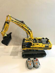 LEGO-TECHNIC-8043-motorises-raisin-Excavateurs-entierement-fonctionnel