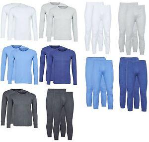 Thermo-Flausch-Unterhemd-Jacke-Langes-Waerme-Hemd-Lange-Unterhose-Hose-Pullover
