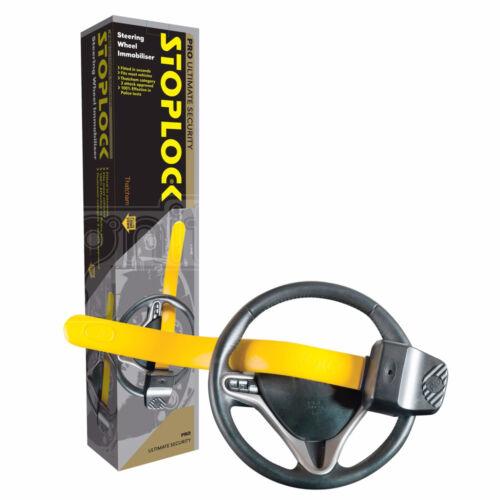 Stoplock Steering Wheel Immobiliser Lock Pro Maximum Security Clamp Anti Theft