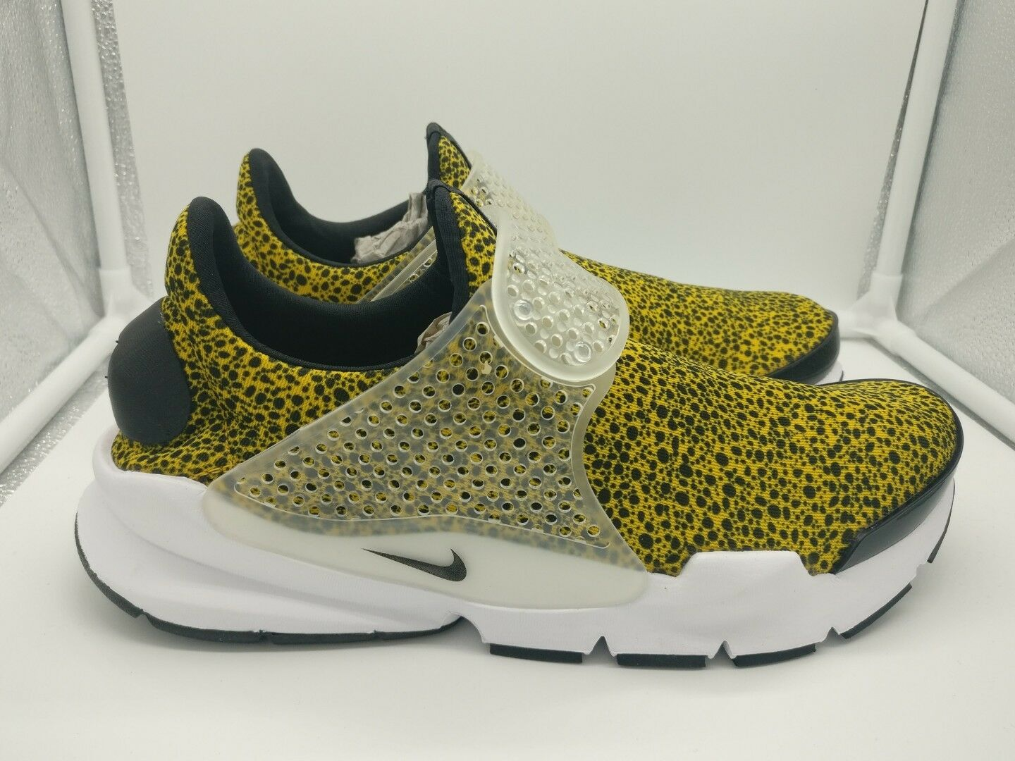 Nike University Sock Dart QS9 University Nike Gold noir blanc 942198700 613fea