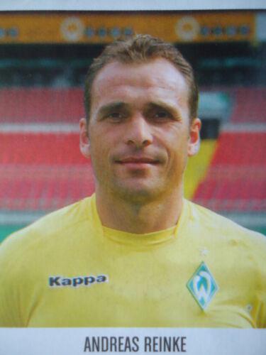 Panini 68 BL Fussball 2005//06 Andreas Reinke Werder Bremen