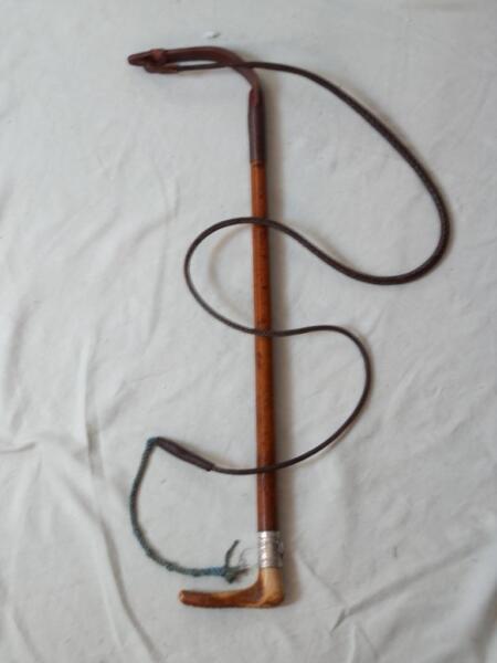 Antico B. Ellam Frusta Di Caccia-argento Foxhead Colletto In Rilievo J Rick Westwick Scelta Materiali