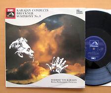 SXDW 3024 Karajan Conducts Bruckner Symphony 8 EXCELLENT Stereo 2xLP Gatefold