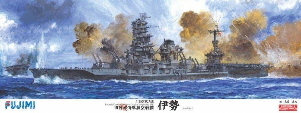 NEW Fujimi 1 350 ship models Imperial Japanese Navy aviation battleship Ise F S