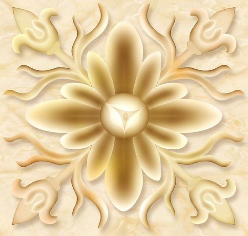 3D Diseños Florales Piso De Arte Parojo de papel pintado Mural Calcomanía de impresión 5D AJ Wallpaper