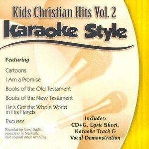 Karaoke Entertainment Karaoke Cdgs, Dvds & Media Kids Christian Hits Volume 4 Christian Karaoke Style New Cd+g Daywind 6 Songs