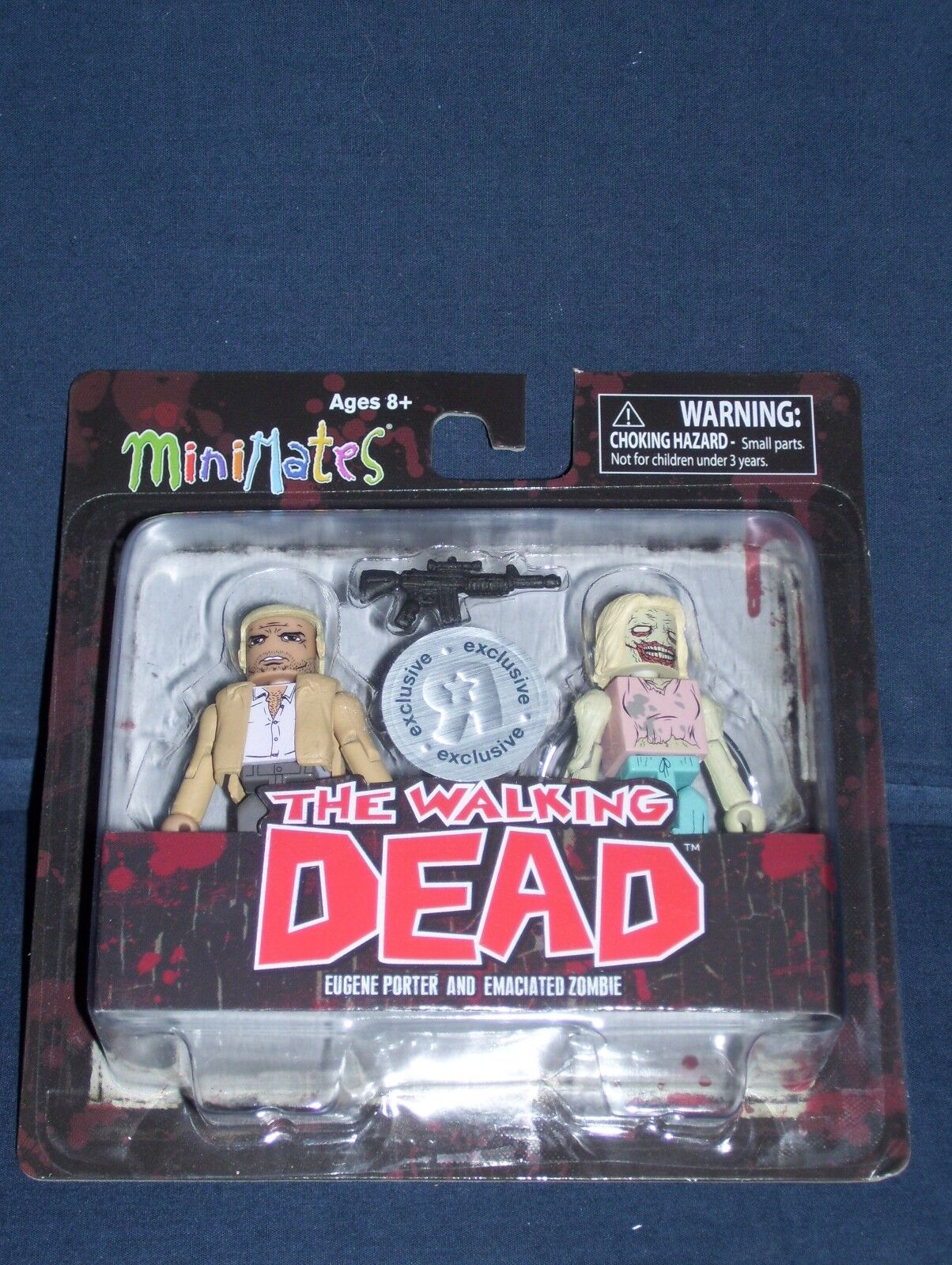 Minimates Eugene Port & Emaciated Zombie Series 5 Walking Dead NIB Toys R Us