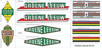 GROENE LEEUW SET 3