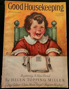 Good Housekeeping November 1935 FASHIONS Great Advertising | eBay
