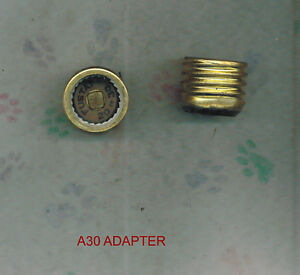 NEW BOX OF 4 BUSS FUSTAT A-30 FUSE ADAPTER