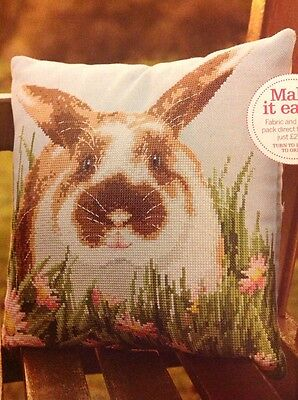 Cute Spring Easter Bunny Rabbit Cross Stitch Chart A
