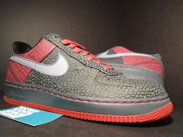 Nike Air Obliger 1 SUPREME 07 ORIGINAL SIX MOSES MALONE noir STEALTH Gris rouge 11