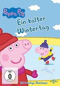 DVD * PEPPA PIG - EIN KALTER WINTERTAG (9) # NEU OVP +