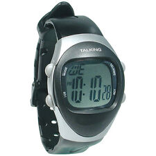 Unisex New Age 4 Alarm Talking Watch - Stopwatch, Low Vision, Blind - English