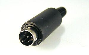 PS2-Estilo-Circular-Cable-Soporte-Enchufe-Gama-3-4-5-7-amp-8-Vias-EB60