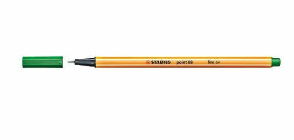 0,53€//Stück Stabilo Point 88 rot 10er Pack Fineliner Strichstärke 0,4 mm