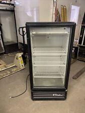 True Gdm10 Used Single Door Glass Refrigerator Cooler