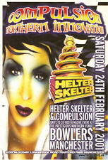HELTER SKELTER & COMPULSION - THE AWAKENING (HARDCORE CD'S) 24TH FEBRUARY 2001