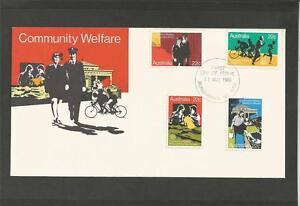 AUSTRALIA-1980-COMMUNITY-WELFARE-FDC