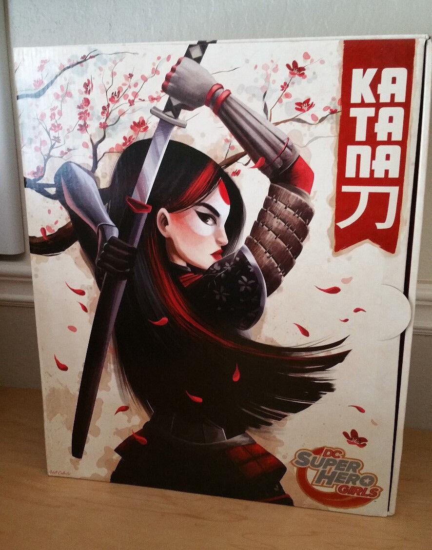 SDCC 2016 Mattel Exclusive DC Super Hero Girls Katana Mattel  12  Doll New