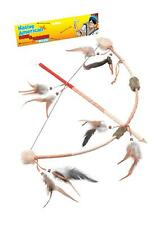 Bow And Arrow Set 51cm Accessory for Wild West Indian Fancy Dress