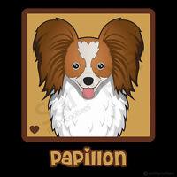 Papillon Cartoon T-shirt Tee - Men's, Women's, Youth, Tank, Short, Long Sleeve
