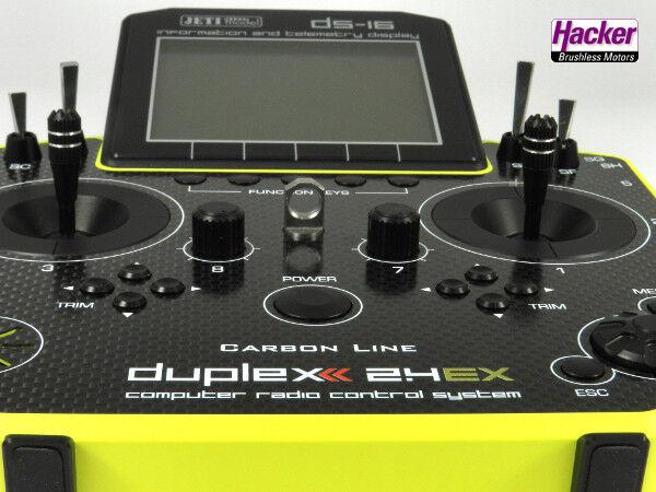 Duplex 2,4EX Emisor DS-16 Carbono amarillo Multimode 80001508
