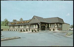 THURMONT-MD-Mountain-Gate-Family-Restaurant-Vintage-Catoctin-Postcard-Old-PC