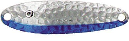 NEW Hammered Chrome//Neon B 1003-038-0310 Luhr Jensen 3//8 Krocodile Treble Hook