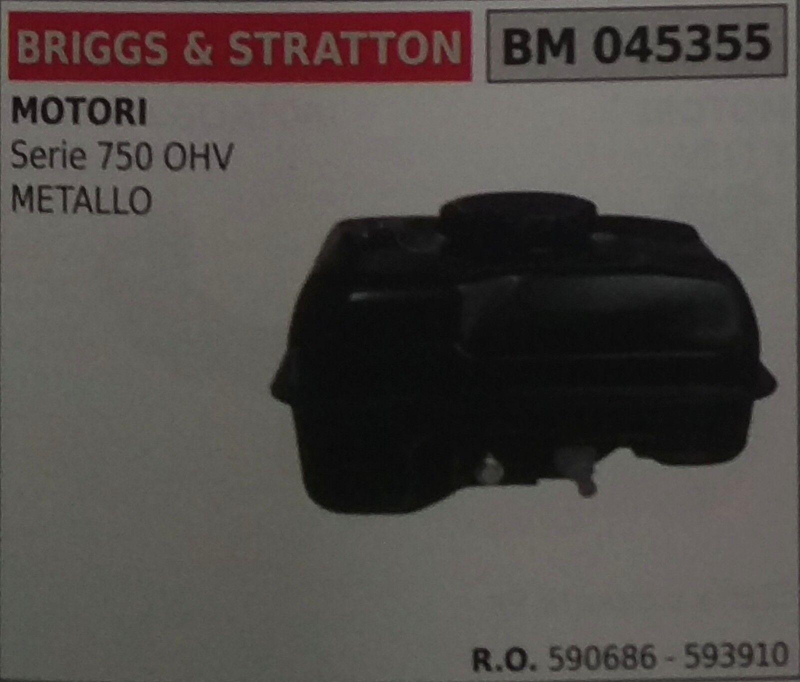 590686 SERBATOIO COMPLETO MOTORE BRIGGS & STRATTON serie 750 OHV in metallo
