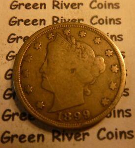 1899 Liberty Head Nickel  #PH99 better grade