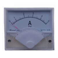 1Pcs Amico 85L1-A Class 2.5 Accuracy AC 5A Analog Panel AMP Meter