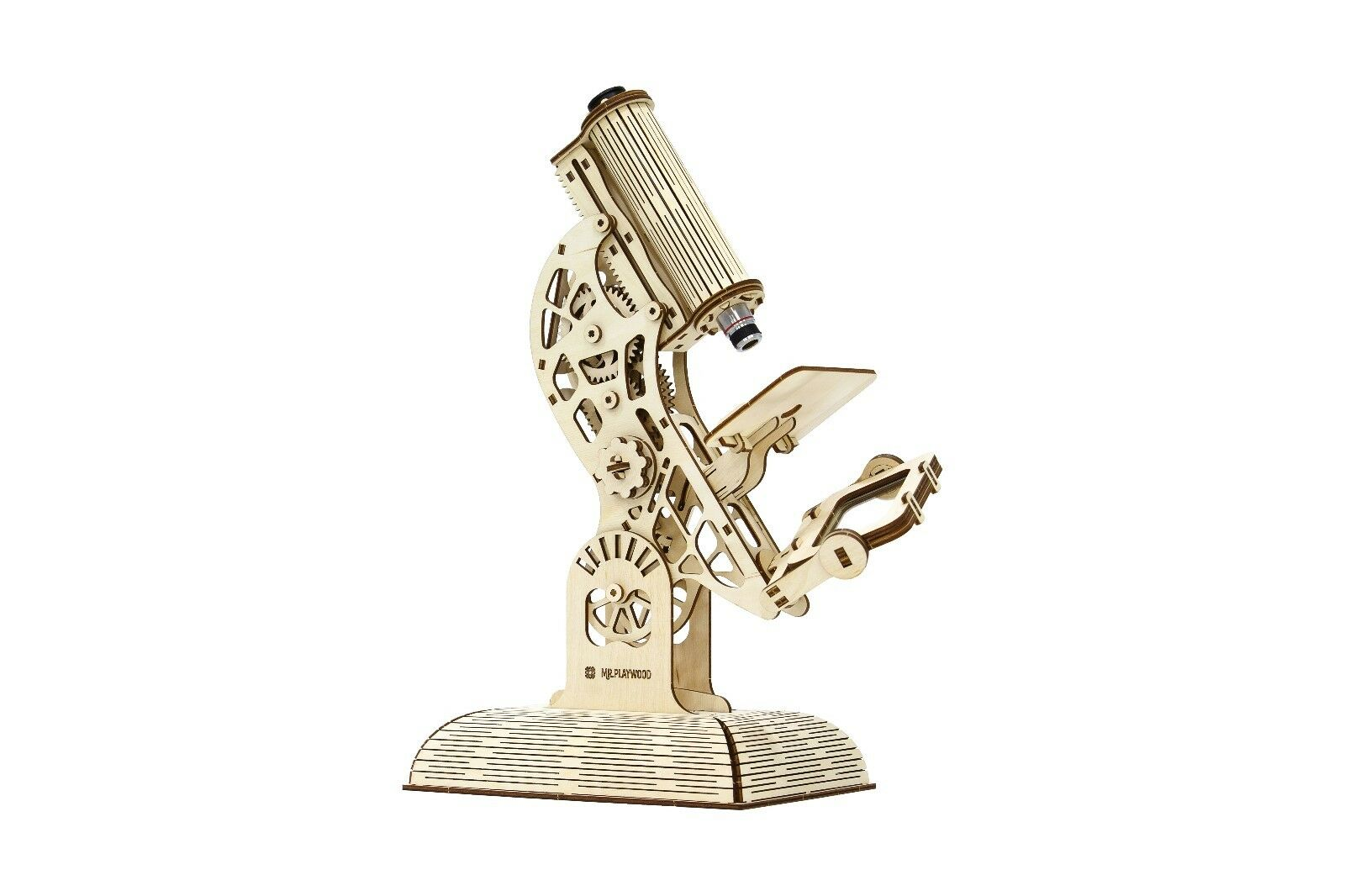 BRAND NEW Microscope - Mr PLAYWOOD 3D Mechanical Wooden Model & Puzzle kit