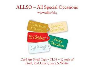 Quality-Christmas-Greeting-Card-Scrapbook-Tags-Banners-Labels-amp-Toppers