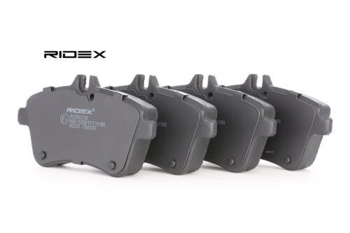 RIDEX Bremsbeläge Bremsklötze VORNE MERCEDES-BENZ A-CLASS W169 B-CLASS W245