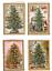 miniatuur 1 - *EDITION TAUSENDSCHÖN*Doppelkarte*Weihnachten*Adventskalender*Nostalgie*W-Baum*