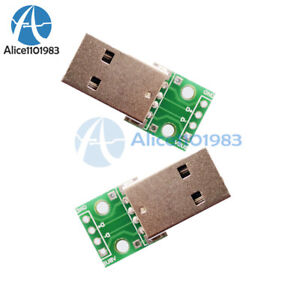 20PCS-USB-to-DIP-Adapter-Converter-4-pin-for-2-54mm-PCB-Board-DIY-Power-Supply