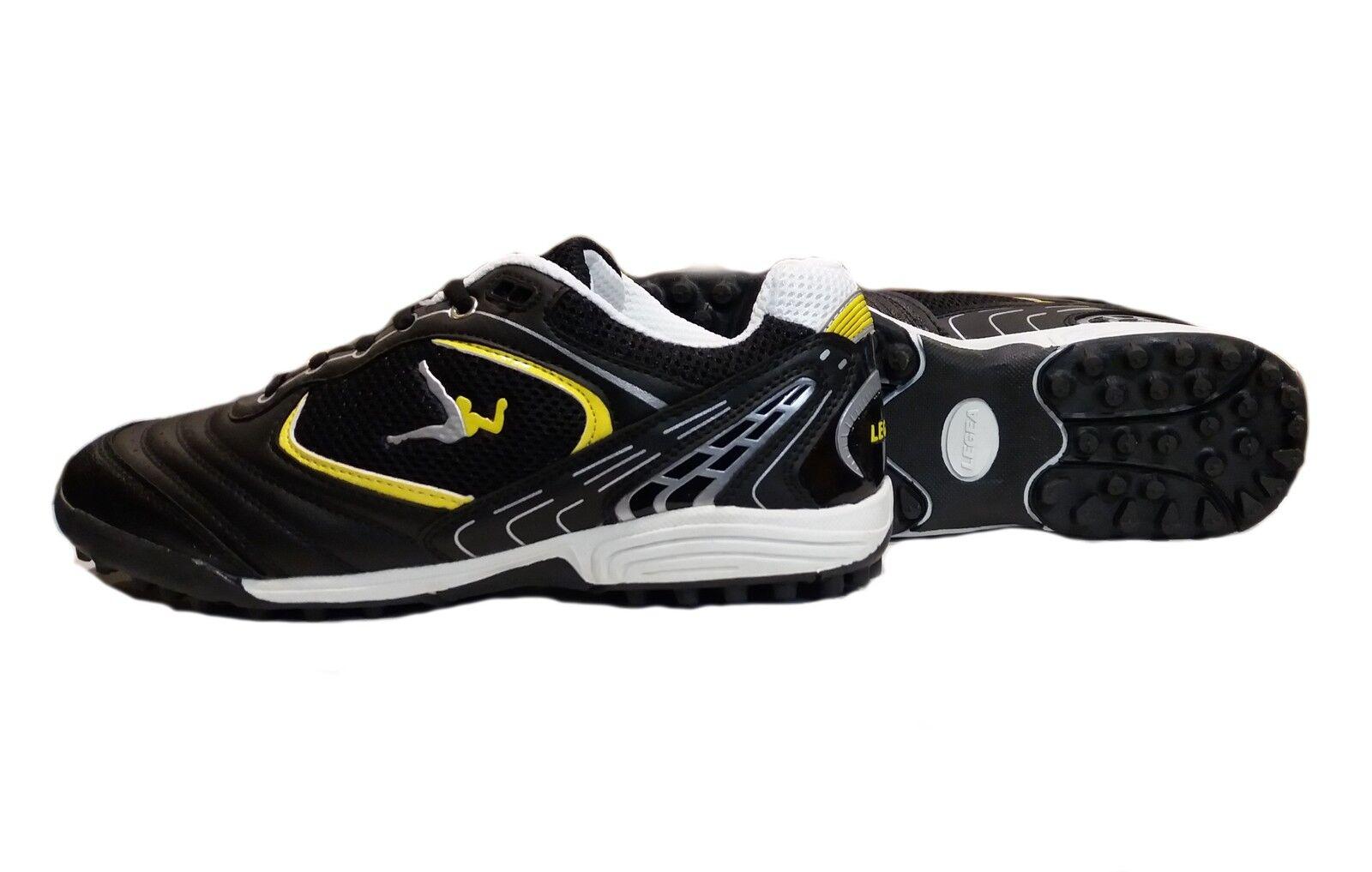Legea Futsalschuhe Boras Outdoor Outdoor Outdoor Junior schwarze Farbe gelb Artikel SA551 JR 1071d6