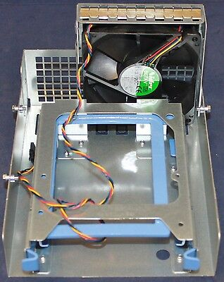 Dell Precision T3500 T5400 T5500 extra HDD cage with fan WH216 XH389 RH991 RH887
