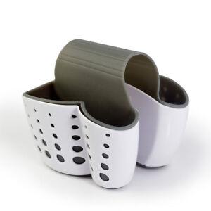 Sponge Holder Sink Caddy Soap Storage Basket For Kitchen Organization Silicone