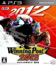 Used PS3 Winning Post 7 2012 SONY PLAYSTATION 3 JAPAN JAPANESE IMPORT
